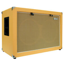 Seismic Audio 2x12 GUITAR SPEAKER CABINET 212 Empty Cab Orange Tolex