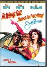 To Wong Foo Thanks for Everything Patrick Swayze DVD/ PG-13 [TRAILER INSIDE AOI