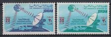 Jordanien Jordan 1975 ** Mi.984/85 Satellit Erdfunkstelle Satellite Earth Statio