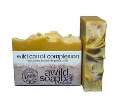A Wild Soap Bar Wild Carrot Complexion  Natural Organic Shampoo & Body Bar