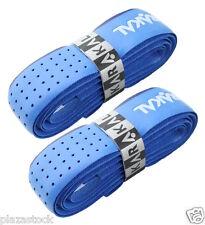 2 x Karakal Tribal Super PU Replacement Grips - Tennis - Squash Badminton - Blue