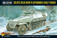 SDKFZ 251/9 STUMMEL GERMAN HALFTRACK - BOLT ACTION - WARLORD - SENT FIRST CLASS