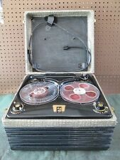 Vintage 1952 Webcor 2110-1 Vacuum Tube Reel-to-Reel Tape Recorder Player WORKS