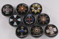 Magnet Lot Set of 9 Austria Hungary Hungarian Empire Medal Order Cross Germany