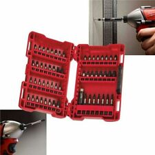 Milwaukee 56 Piece Shockwave Screwdriver Impact Bit Set Cased 4932430581 NEW