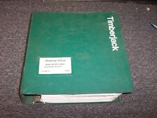 Timberjack 560 660 Grapple Skidder Shop Service Repair Manual Book F298905