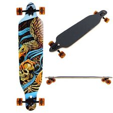 "Professional Longboard Complete 41"" Cruiser Skateboard Downhill Canadian Maple"