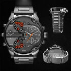 Men's Fashion Luxury Watch Stainless Steel Sport Analog Quartz Mens Wristwatch