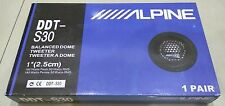 "NEW ALPINE DDT-S30 25MM 1"" SOFT DOME BALANCED CAR TWEETERS 360W & CROSSOVERS"
