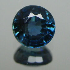 4 MM Natural AFRICA BLUE Sapphire ROUND 1 Piece Loose Stone