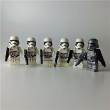 Coustom Lego 6pcs Star Wars Stormtrooper Minifigures Building Blocks Toy Gifts
