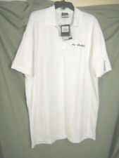 "MENS NIKE GOLF S/S Dri-Fit  POLO  WHITE SHIRT SIZE XXL NWT embroidered ""Da Bubba"