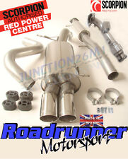 """Scorpion Ford Fiesta ST180 3"""" Turbo Back Exhaust System (RES) & De Cat Downpipe"""