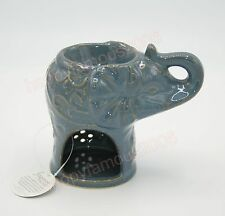 LUCKY ELEPHANT CERAMIC CANDLE HOLDER WAX OIL BURNER WARMER DIFFUSER FRAGRANCES
