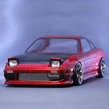 Pandora NISSAN one-via 240SX 1:10 RC Cars Drift 196mm Clear Body Set #PAB-126
