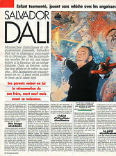 COUPURE de presse PHOTO CLIPPING  SALVADOR DALI