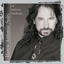 NEW - La Historia Contin£a by Marco Antonio Solis