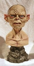 gollum bust the lord of the ring  mexican sculpture
