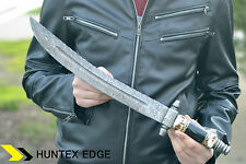 HUNT EMPORIUM Hand Made Damascus Steel Hunting Knife ***TURKISH SWORD***