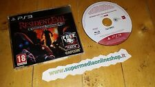RESIDENT EVIL OPERATION RACCOON CITY VERSIONE PROMO PAL ITA PROMO VERSION X PS3!