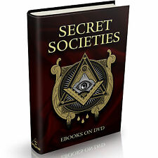 139 Secret Societies Books on DVD Illuminati NWO Free Masons Bilderberg Jesuits