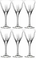 RCR Crystal Fusion Water Wine Glasses, Set of 6 Crystal Wine Stemmed Glasses
