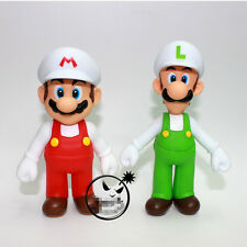 "Super Mario Bros. - 4.75"" FIRE MARIO & 5"" FIRE LUIGI Action figures Dolls"