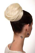 Haarteil Dutt Haarknoten 60er Jahre Vintage Look Platinblond groß NHA-004C-613