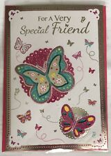 For A Very Special Friend - Pop Out Butterflies Birthday Card