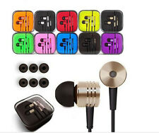 10pcs/lot 3.5mm Metal Xiaomi Noise Cancelling Earphone For Samsung HTC LG iPhone