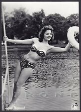 ANNE HEYWOOD 01 ATTRICE ACTRESS CINEMA MOVIE STAR PEOPLE Cartolina FOTOGRAFICA