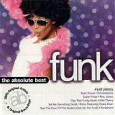 VARIOUS ARTISTS  -  THE ABSOLUTE BEST FUNK  -  CD, 1999
