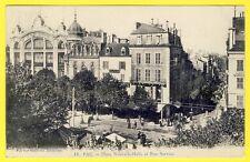 cpa 64 - PAU Place Nouvelle Halle et Rue Serviez GALERIES MODERNES