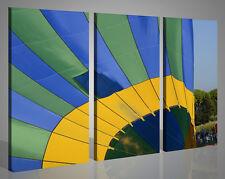 Quadri moderni canvas MONGOLFIERE VOL I stampe su tela intelaiato 130x90