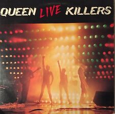 QUEEN LIVE KILLERS 2-LP EMI UK 1979 STERLING CUT 1U MATRIX FAST DISPATCH