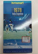 VHS calcio ITALIA - ARGENTINA 1-0 (1978) Tuttosport Coppa del Mondo Nazionale CN