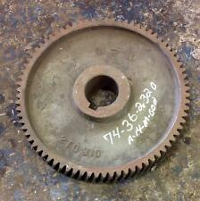 "76-TEETH 20"" DIAMETER SPROCKET 2TG 310 / 2TG 375"