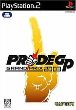 Used PS2 Pride GP 2003   Japan Import (Free Shipping)