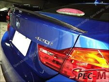 Performance Carbon Fiber Trunk Wing Spoiler Lip Fits BMW 420i 428i 435i Coupe