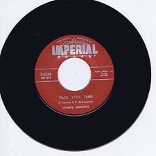 TOMMY LOMONTE - YEAH YEAH YEAH / I'M LEAVING (Stormin' WILD Screamin' ROCKER)