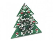 VELLEMAN MK142 SMD SURFACE MOUNT SOLDERING CHRISTMAS TREE KIT