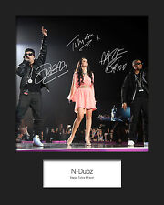 N DUBZ #2 10x8 SIGNED Mounted Photo Print - FREE DELIVERY