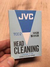 Jvc TCC-2 vhsc SVHSC caméscope tête nettoyage cassette vidéo caméra