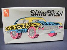 "Rare AMT 1961 Ford Galaxie 500 ""Ultra Violet"", 1/25 Scale Model Kit, N Mint Cond"