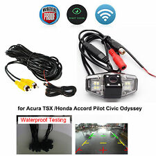 Backup Rear View CCD Color Camera for Acura TSX/Honda Accord Pilot Civic Odyssey