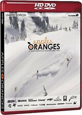 Apples and Oranges - a Super 16mm and ( Snowboarding Sport Extreme) HD DVD