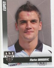 N°138 MARKO OBRADOVIC # BELGIQUE AS.EUPEN STICKER PANINI FOOTBALL 2011