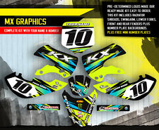 2002-2009 KLX 110 GRAPHICS KIT KAWASAKI KLX110