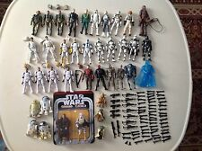 """Star Wars Action Figure Mix Lot Clone Trooper Droids 3.75"""" Army Builder Lot"""