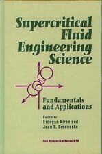Supercritical Fluid Engineering Science: Fundamentals and Applications-ExLibrary